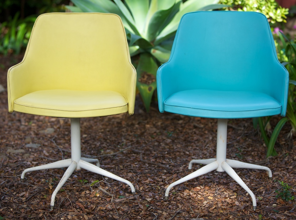 Delicieux Retro Swivel Chairs