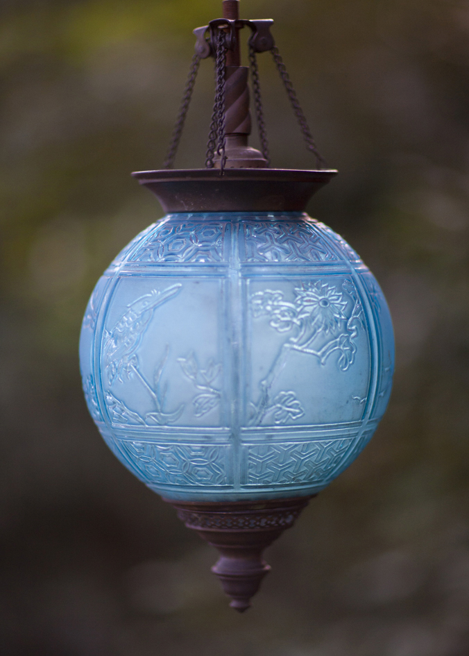 Antique Glass Pendant Eclectibull