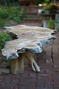 big sur burlwood table