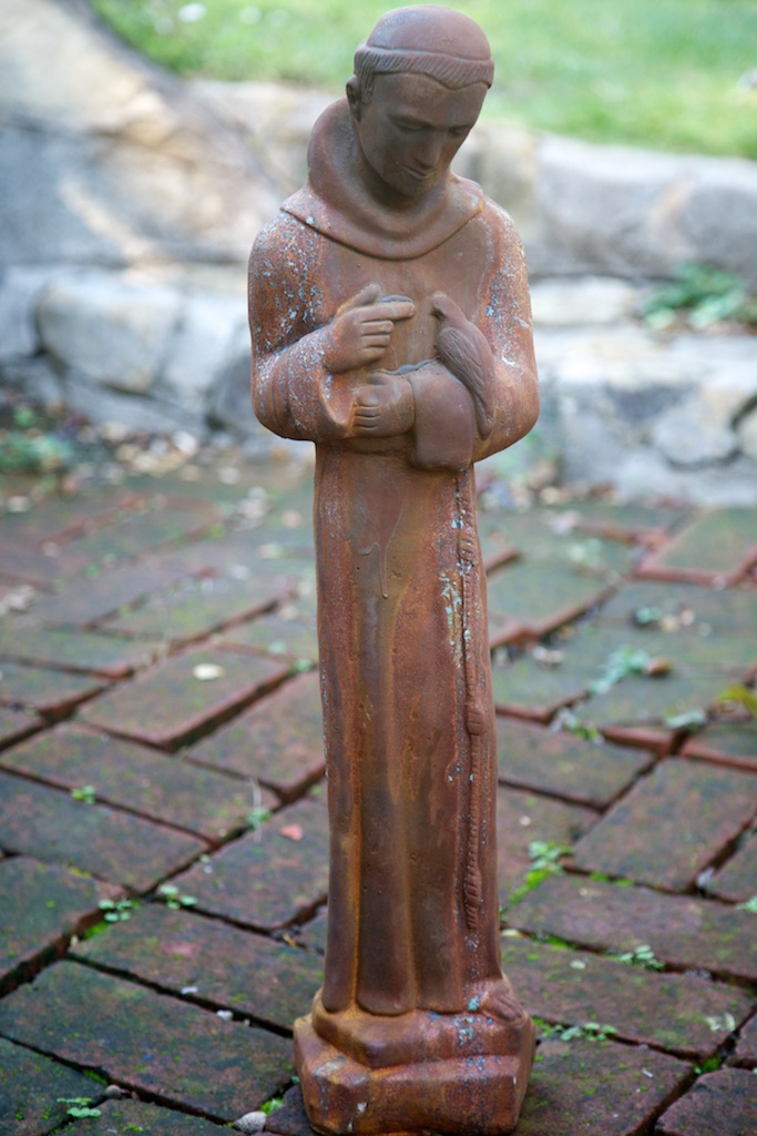 St Francis Of Assisi Statue Eclectibull