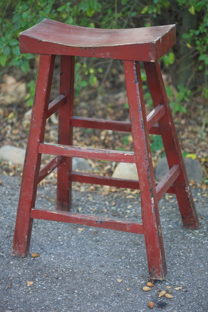 Antique Asian Stool Eclectibull