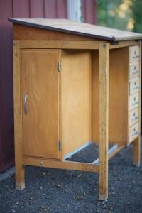 Mid Century 1950 S Drafting Table Desk Eclectibull