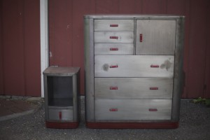 industrial steel metal dresser