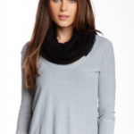 14th & Union Cashmere Infinity Scarf, Scarves, Black