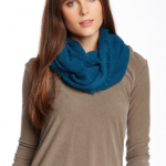 14th & Union Cashmere Infinity Scarf, Scarves, Teal