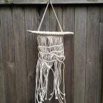 Faire Un Noeud Modern Macrame Wall Hanging Art, Minimalist, Tangled Web